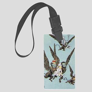 flying monkeys 2 Large Luggage Tag