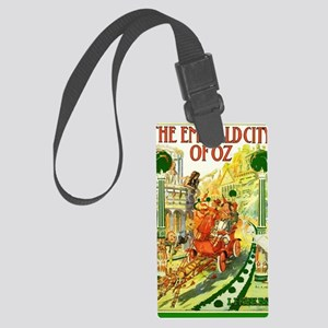The Emerald City of Oz Large Luggage Tag