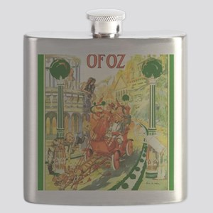 The Emerald City of Oz Flask