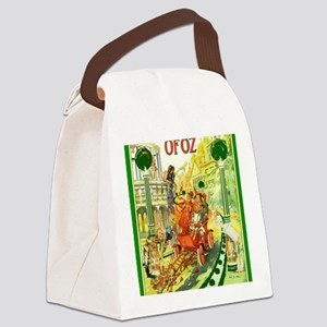 The Emerald City of Oz Canvas Lunch Bag