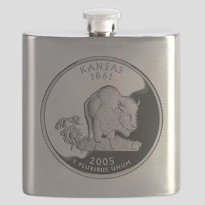 kansas-black Flask