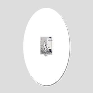 tin man 20x12 Oval Wall Decal