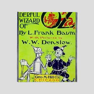 Wonderful wizard of oz Throw Blanket