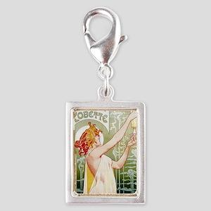 Absinthe Robette T. Privat-L Silver Portrait Charm