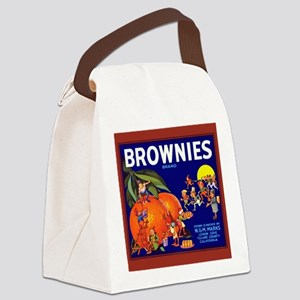 Brownies Brand Oranges Canvas Lunch Bag
