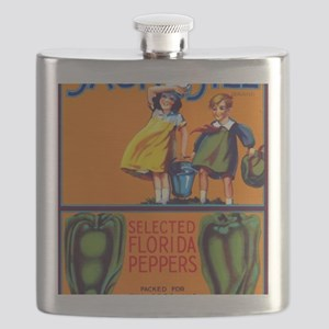 Jack and Jill Peppers Flask