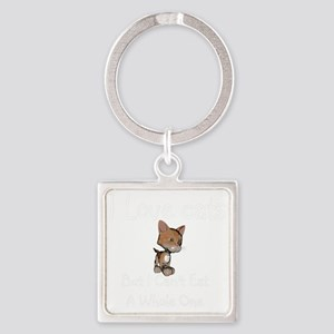 cats-black. Square Keychain