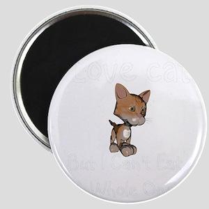 cats-black. Magnet
