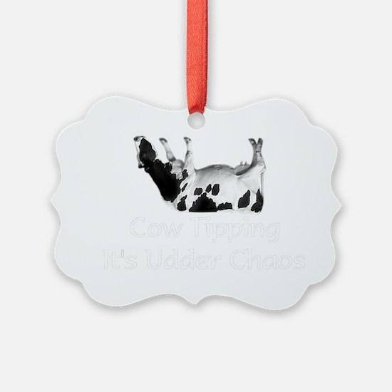 cow-black. Ornament