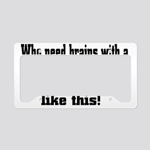 rack License Plate Holder