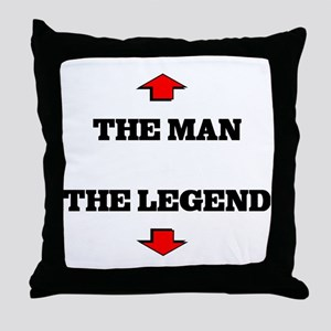 thelegend Throw Pillow