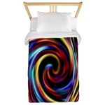 1960's Retro Sixties Decor Twin Duvet Cover