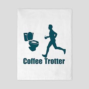 Coffee Trotter Twin Duvet