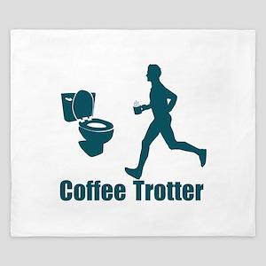 Coffee Trotter King Duvet