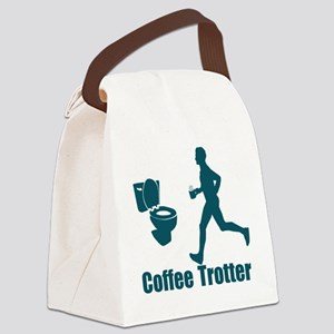 Coffee Trotter Canvas Lunch Bag