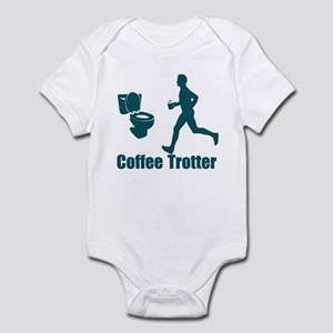 Coffee Trotter Infant Bodysuit