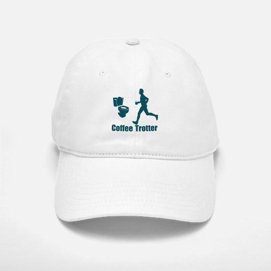 Coffee Trotter Baseball Baseball Cap