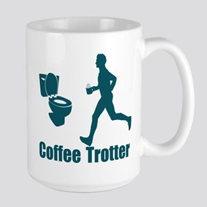 Coffee Trotter Large Mug