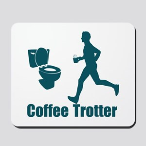 Coffee Trotter Mousepad
