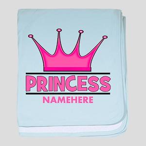 Custom Princess baby blanket