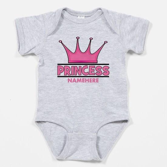 Custom Princess Baby Bodysuit
