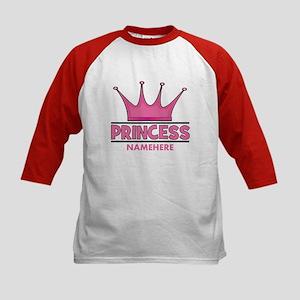 Custom Princess Kids Baseball Jersey