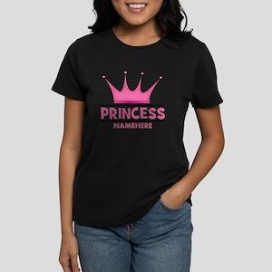 Custom Princess Women's Dark T-Shirt
