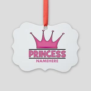 Custom Princess Picture Ornament