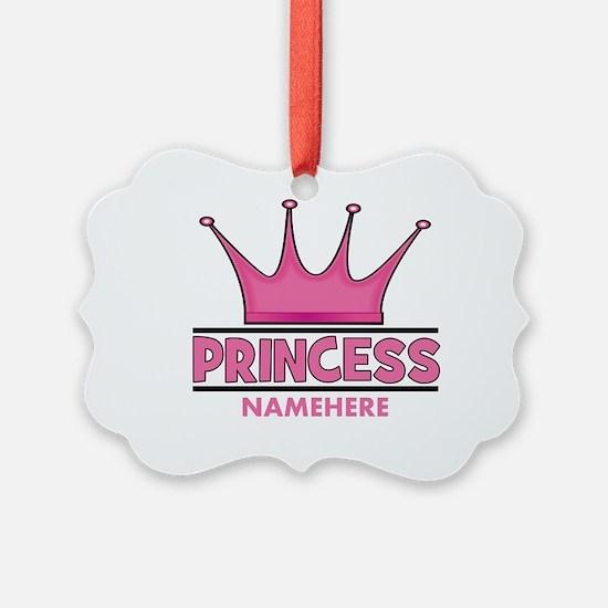 Custom Princess Ornament