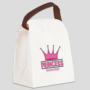 Custom Princess Canvas Lunch Bag
