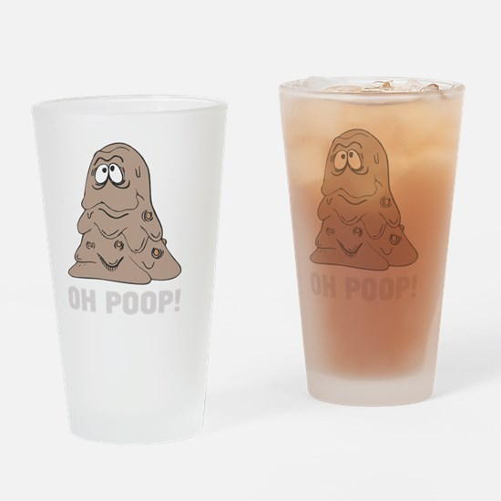 OH POOOO! copy Drinking Glass