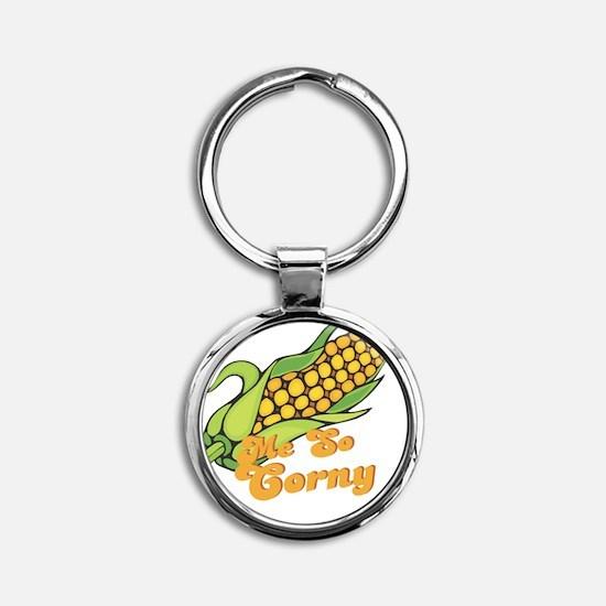 mesocorny Round Keychain