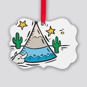 teepee copy Picture Ornament