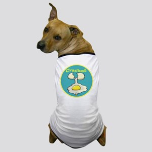 crackedeggface copy Dog T-Shirt
