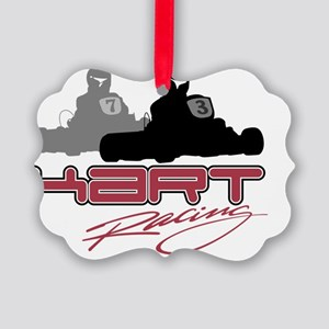 kart racing copy Picture Ornament