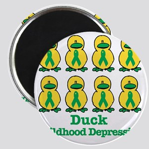 childhood depression ducks Magnet