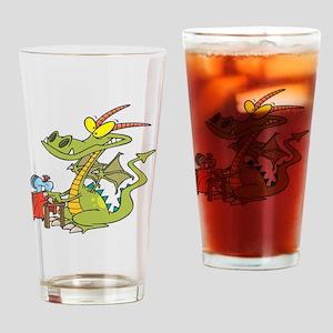 DragonSew copy Drinking Glass