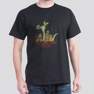 hungry hungry Zilla Dark T-Shirt