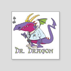 """Dragondoc copy Square Sticker 3"""" x 3"""""""