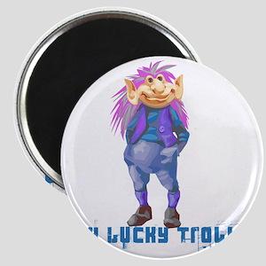 my lucky troll Magnet