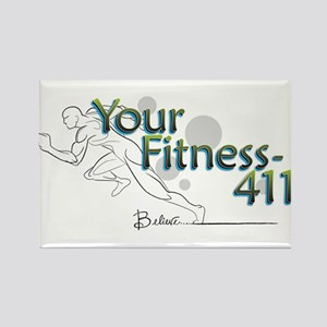 YourFitness-411 Logo Magnets