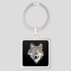 Lone Wolf Keychains