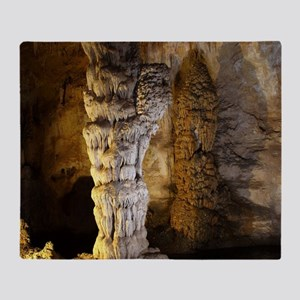 Carlsbad Caverns Throw Blanket