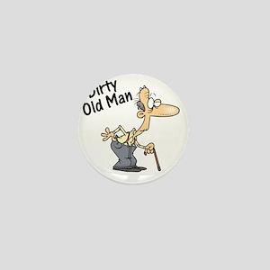 dirty old man Mini Button
