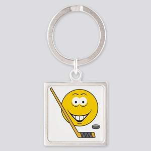 smiley60 Square Keychain