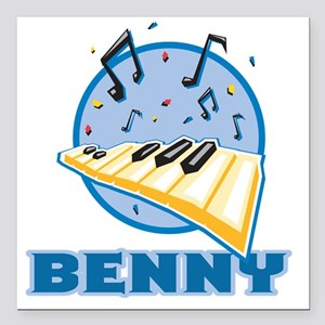 "benny Square Car Magnet 3"" x 3"""