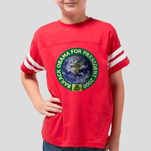 o-tshirt green earth-a Youth Football Shirt