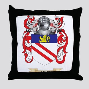 Lehr Coat of Arms - Family Crest Throw Pillow