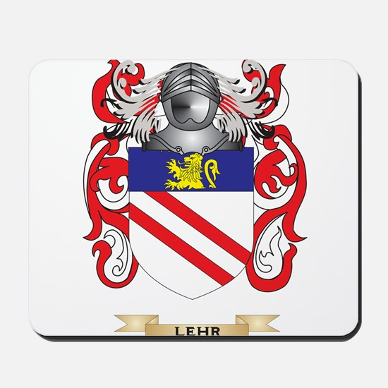 Lehr Coat of Arms - Family Crest Mousepad