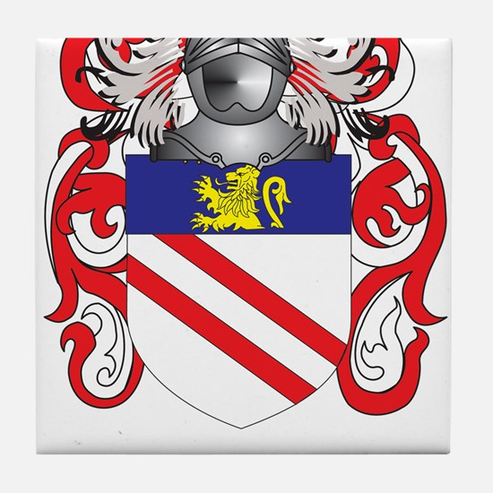 Lehr Coat of Arms - Family Crest Tile Coaster